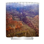 Grand Canyon Morning Scenic View Shower Curtain