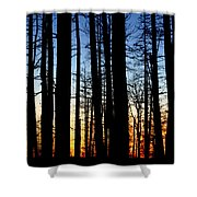 Grand Canyon North Rim Sunset Shower Curtain