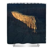 Grand Canyon Point Of Light Shower Curtain