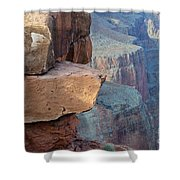 Grand Canyon Raw Nature Shower Curtain