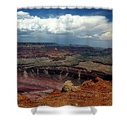 Grand Canyon View - Greeting Card Shower Curtain