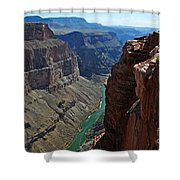 Grand Canyon View Shower Curtain