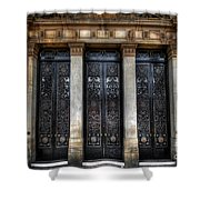 Grand Door - Leeds Town Hall Shower Curtain