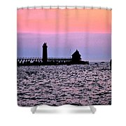 Grand Haven Michigan Shower Curtain