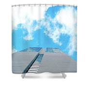 Grand Hyatt San Antonio Shower Curtain