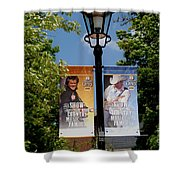 Grand Ole Opry Flags Nashville Shower Curtain