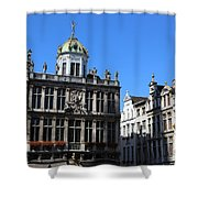 Grand Place Buildings Shower Curtain