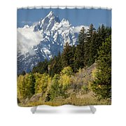 Grand Teton Shower Curtain