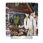 Grandfather Frost Of Russia Shower Curtain