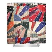 Grandma Baird's Quilt Shower Curtain