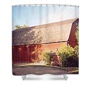 Grandpas Barn Shower Curtain