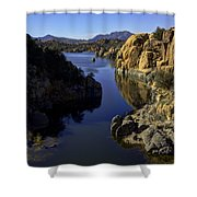 Granite Dells Shower Curtain