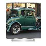Grants Pass 2012 Cruise - Rumble Seat Open Shower Curtain