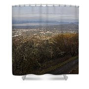 Grants Pass From The Hill Top Shower Curtain
