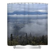Grants Pass Weather Shower Curtain