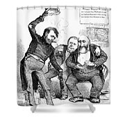 Grant/tweed Cartoon, 1872 Shower Curtain