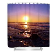 Grape Sea Shower Curtain