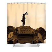 Grapevine City Hall Shower Curtain
