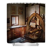 Graphic Artist - Graphic Workshop  Shower Curtain