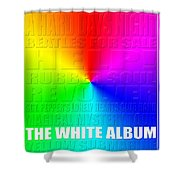 Graphic Beatles Shower Curtain