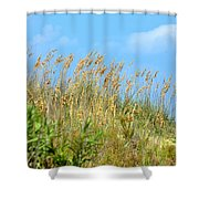Grass Waving In The Breeze Shower Curtain