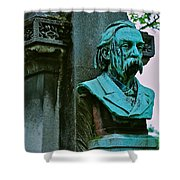 Grave Image Shower Curtain