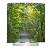 Gravel Road, Niagara Region, Pelham Shower Curtain