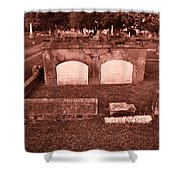 Graves Shower Curtain