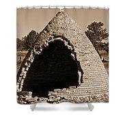 Graveyard Dome Shower Curtain