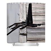 Great Blue Heron - Foundation Shower Curtain