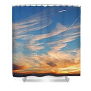 Great Canadian Sunset Shower Curtain