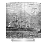 Great Eastern, 1860 Shower Curtain