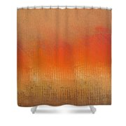 Great Fire Of London Shower Curtain