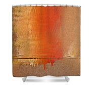 Great Fire Two Shower Curtain