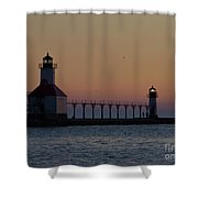 Great Lake Lighthouse Shower Curtain