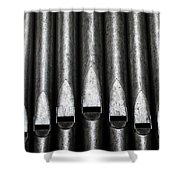 Great Set Of Pipes Shower Curtain