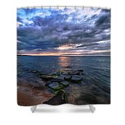 Great South Bay Shower Curtain