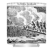 Great Swamp Fight, 1675 Shower Curtain