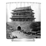 Great Wall Of China - Peking - C 1901 Shower Curtain