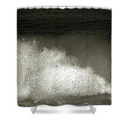 Great Wave For Surfers Shower Curtain