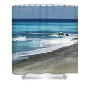 Greece, Lefkas Shower Curtain by Axiom Photographic
