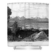 Greece: Levkas, 1832 Shower Curtain