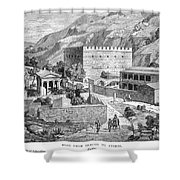 Greece: Road To Athens Shower Curtain