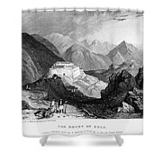 Greece: Souli, 1833 Shower Curtain