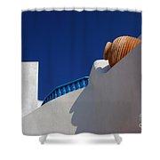 Greek Architecture 2 Shower Curtain