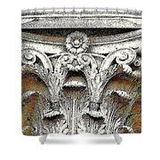 Greek Column Shower Curtain