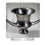 Greek Drinking Cup Shower Curtain