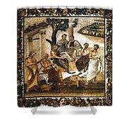 Greek Philosophers Shower Curtain