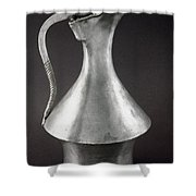 Greek Wine Jug, C325-350 B.c Shower Curtain