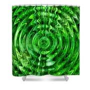Green As Grass Shower Curtain